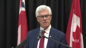 Manitoba MP Jim Carr announces federal carbon tax on province